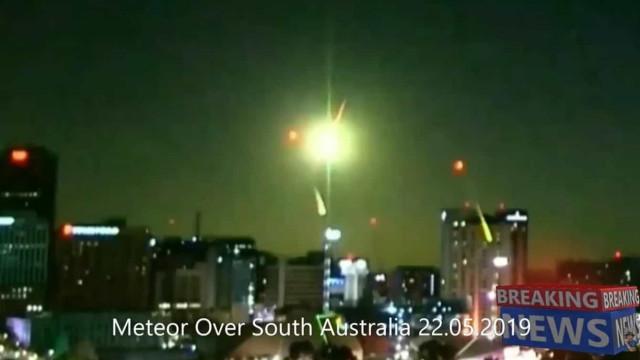 """Meteorito captado na Austrália tinha energia de """"pequena bomba nuclear"""""""