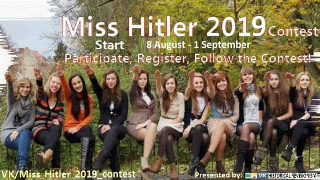 Neonazi português organiza concurso 'Miss Hitler'