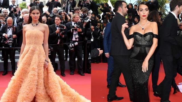 Sara Sampaio ou Georgina Rodríguez: Quem ganha o look da semana?