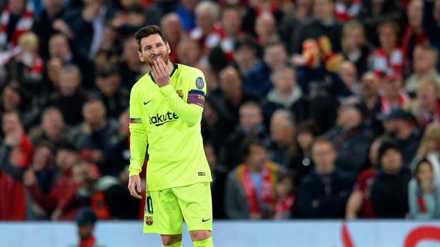 Lionel Messi vencedor virtual da Bota de Ouro pela sexta vez