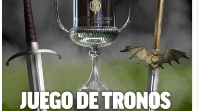 Lá fora: Hoje é dia de 'Guerra dos Tronos' em Espanha