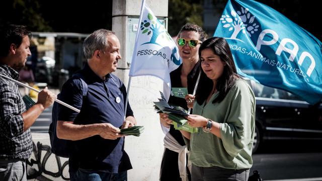"""PAN: Portugueses """"identificam-se cada vez mais com partidos alternativos"""""""