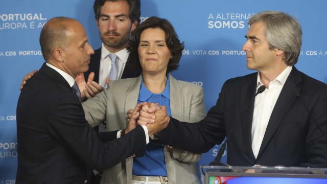 """Nuno Melo assume derrota do CDS, o """"responsável sou eu"""""""