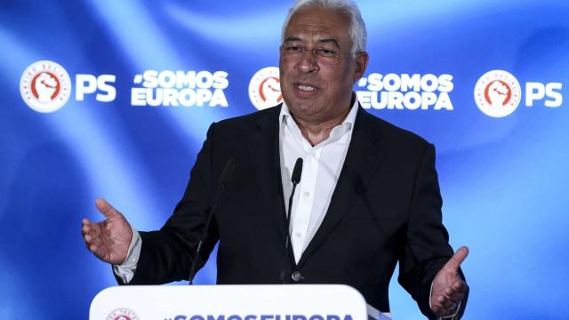 """Costa agradece votação """"expressiva, clara e inequívoca"""" no PS"""