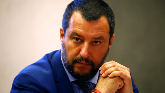 Em Itália, Salvini assegura que coligação se mantém apesar de resultados