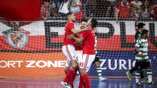 Benfica diz 'não' ao tetra leonino e sagra-se campeão de futsal