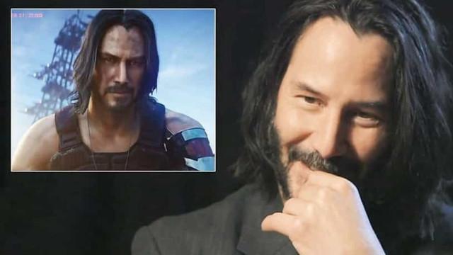 """Keanu Reeves: """"Os videojogos não precisam ser legitimados"""""""