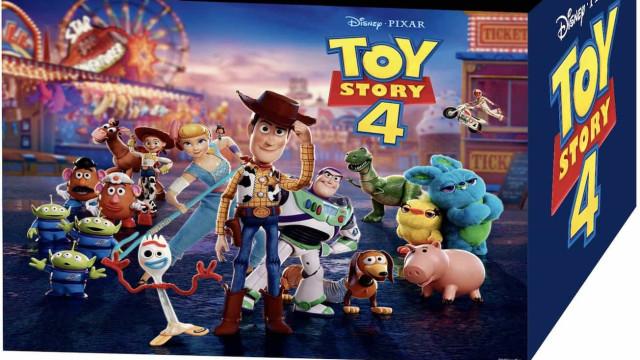Toy Story 4 lança campanha 'Partilha & Recicla' brinquedos