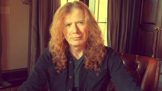 Dave Mustaine, vocalista da banda Megadeth, diagnosticado com cancro