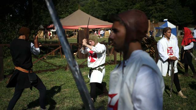 Viagem Medieval com entrada livre para crianças de Santa Maria da Feira