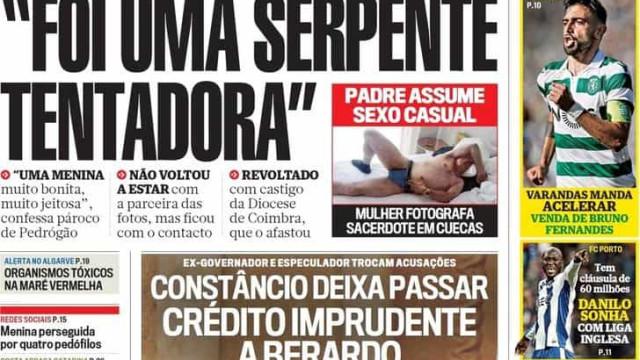 """Hoje é notícia: """"Serpente tentadora"""" trama padre; Paraíso aqui tão perto"""