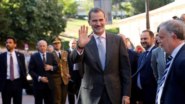 Rei de Espanha comemora cinco anos de reinado