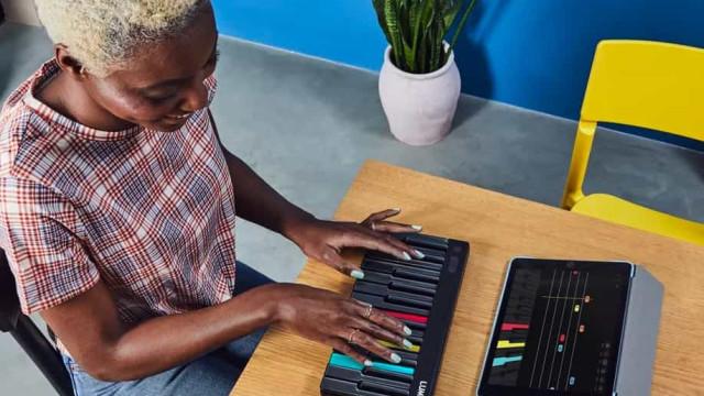 Projeto de Kickstarter quer ensinar-lhe a tocar piano