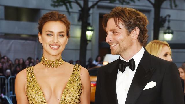 Irina Shayk e Bradley Cooper querem seguir em frente com as suas vidas