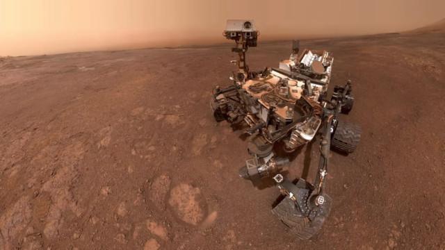 Descoberto em Marte sinal de existência de vida