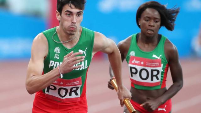 Carlos Nascimento vence Ouro nos 100 metros dos Jogos Europeus