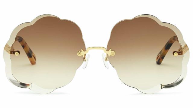 Chloé lança novos óculos de sol Rosie' em formato de nuvem