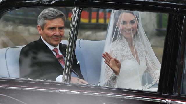 Kate Middleton contou com um fim de semana especial