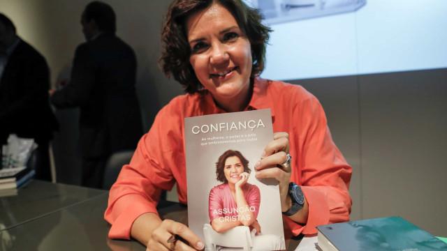"""""""Ativista do otimismo"""", Cristas lança livro com 'Confiança' em outubro"""