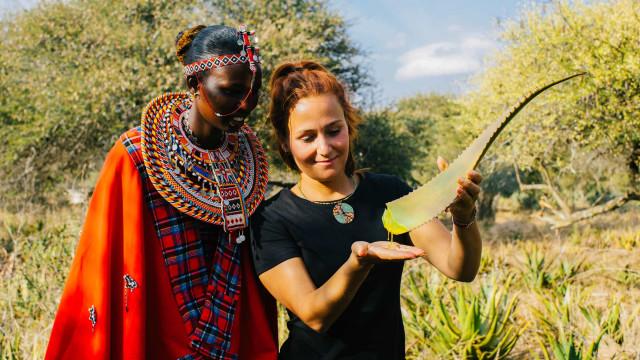 LUSH: Comprar aloé no Quénia e o impacto na liberdade das mulheres