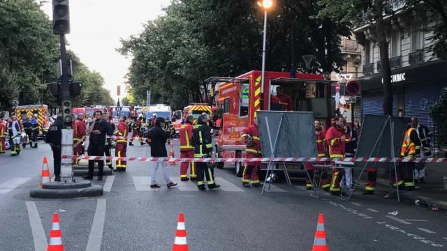 Português entre as vítimas mortais em incêndio em Paris