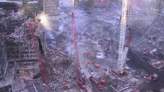 Venda de garagem levou a descoberta de fotos inéditas do 11 de Setembro