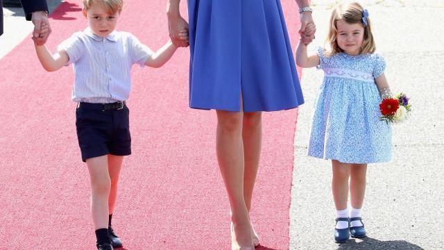 Kate Middleton revela o novo hobbie de George e Charlotte