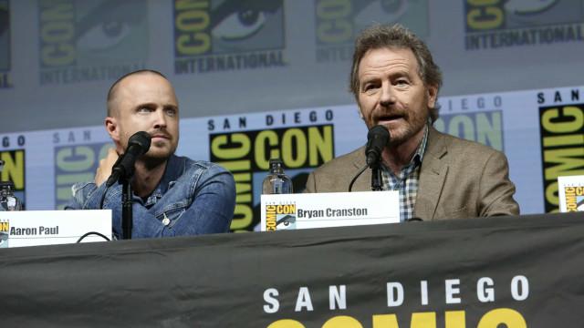 Estrelas de 'Breaking Bad' reforçam rumores de possível filme