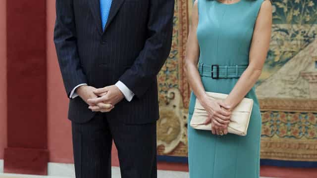 Vídeo viral: Momento de tensão entre os reis Felipe VI e Letizia