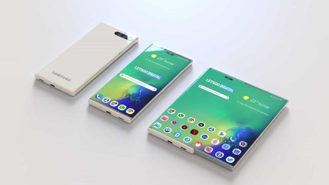 Patente da Samsung vai fazê-lo esquecer os smartphones dobráveis