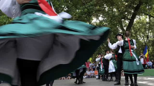 Festival Internacional de Folclore junta grupos de seis países