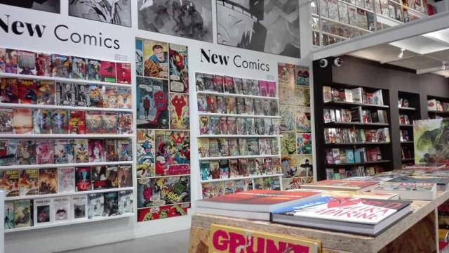 Livraria lusa de BD Kingpin Books volta a ser finalista de prémio Eisner