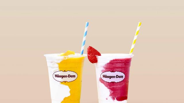 Sorbet Iced Tea e Coconut Cooler. Häagen-Dazs lança novidades vegan