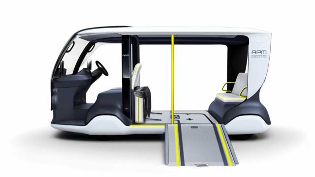 Este é um dos veículos elétricos da Toyota para os Jogos Olímpicos