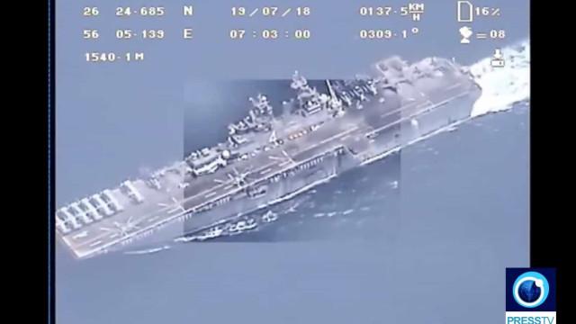 Irão divulga vídeo para provar que drone não foi abatido pelos EUA