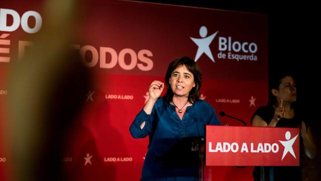 Catarina Martins diz que são precisas medidas estruturais para o SNS