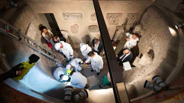 Vaticano analisa ossários após encontrar túmulos de duas princesas vazios