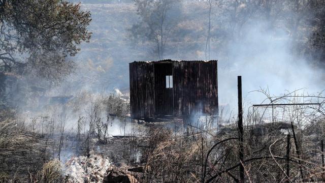 Dominados os dois incêndios no concelho da Sertã