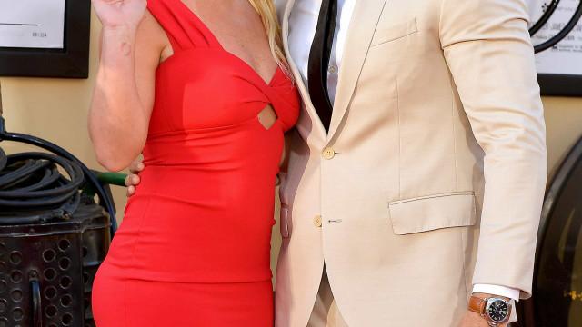 Britney Spears e Sam Asghari pela primeira vez na red carpet como casal