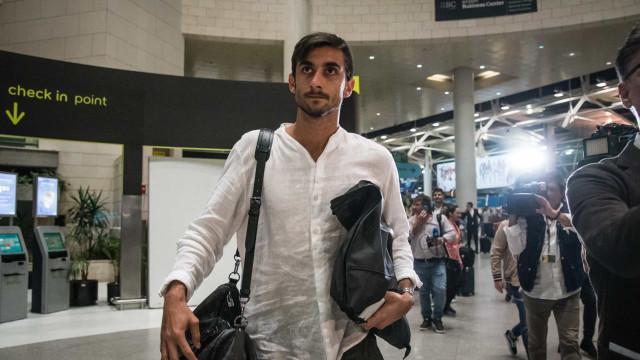 Transferência de Perin para o Benfica 'cai por água abaixo'