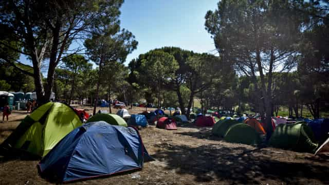 Cofre do parque de campismo de Albufeira assaltado no domingo