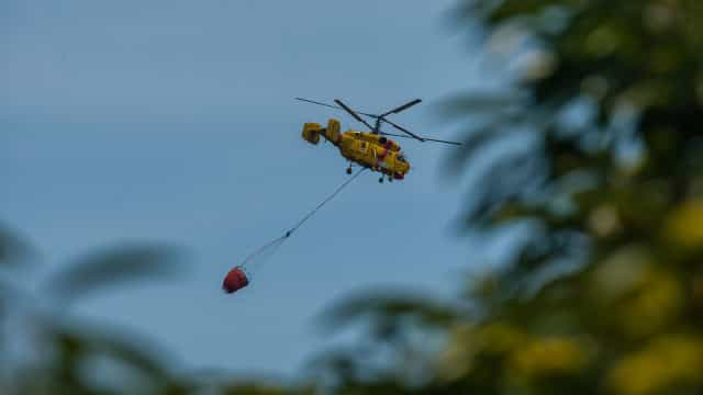 Helicóptero de Évora inoperacional após incidente com paraquedista