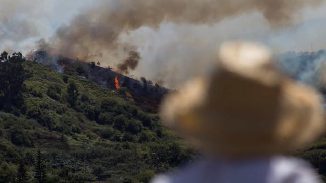 PSOE propõe apoio especial aos afetados pelos fogos na Gran Canária