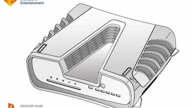 Patente pode ter revelado design da PlayStation 5
