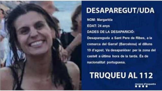 Encontrada portuguesa que desapareceu em Barcelona