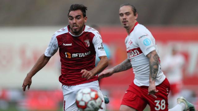 Golo de Ricardo Horta deixa Sp. Braga com um pé na Liga Europa