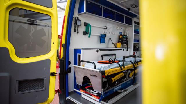 """Investimento do INEM para novas ambulâncias está a ser """"ponderado"""""""