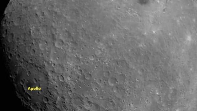Agência espacial indiana partilha a sua primeira fotografia da Lua