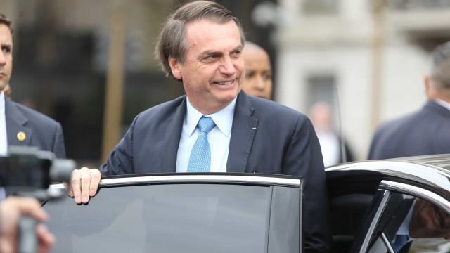 Bolsonaro lamenta ter sido chamado de mentiroso por Macron