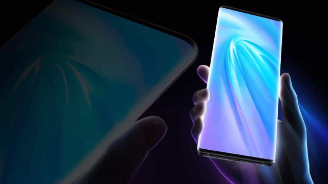 Vivo lança novo smartphones 5G com ecrã 'cascata'